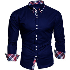 Fashion, checkered, Shirt, long sleeved shirt