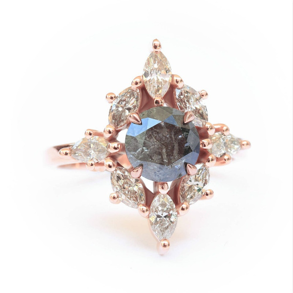 DIAMOND, gold, indie, Engagement Ring