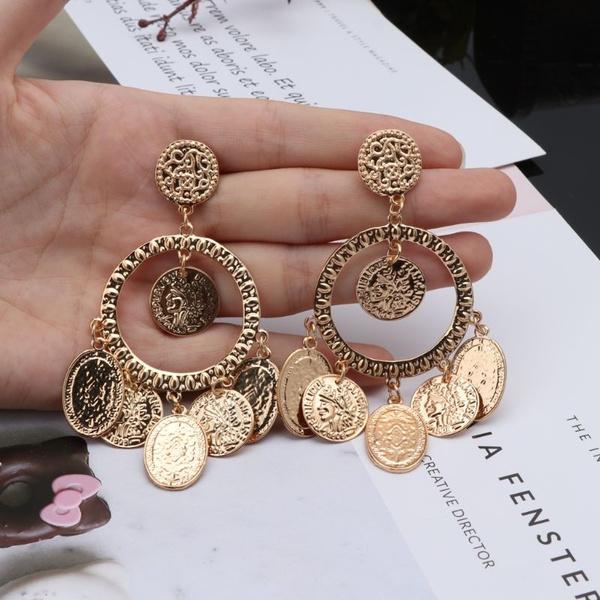 Hoop Earring, Dangle Earring, Jewelry, gypsyearring
