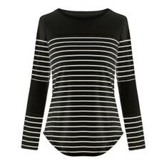 blouse, Round neck, Fashion, Cotton T Shirt