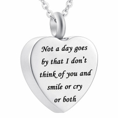 Fashion Jewelry, Chain Necklace, ashesholder, Heart