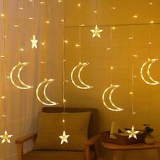 fairylightscurtain, hanginglightsdecor, lightcurtain, Garland
