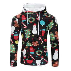 Fashion, Christmas, Sleeve, christmassweatshirt