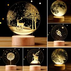 led, Home Decor, Romantic, moonlightlight