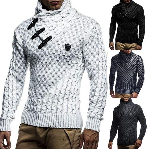 knitted, Fashion, menswintersweater, Winter