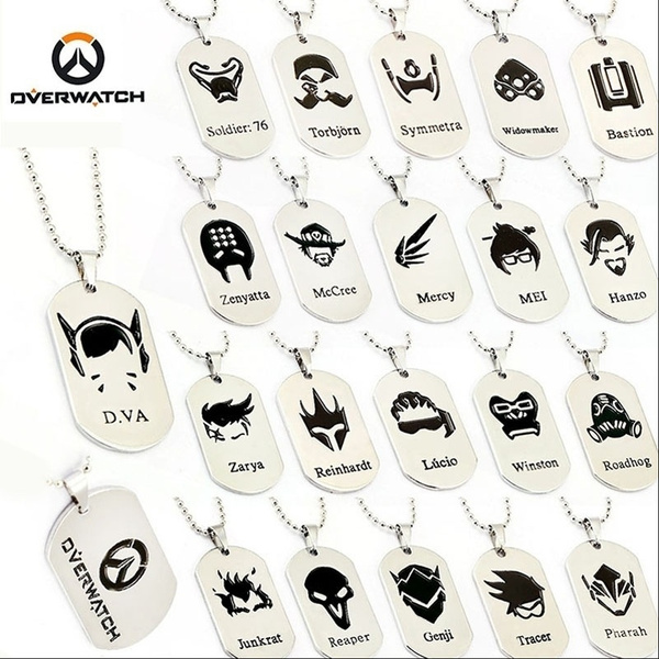 heroe, overwatch, Jewelry, Chain