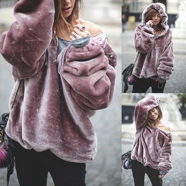 Fashion, velvet, sweatshirt women, Women Hoodie