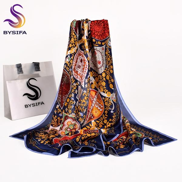 Blues, Scarves, Fashion, scarf shawl