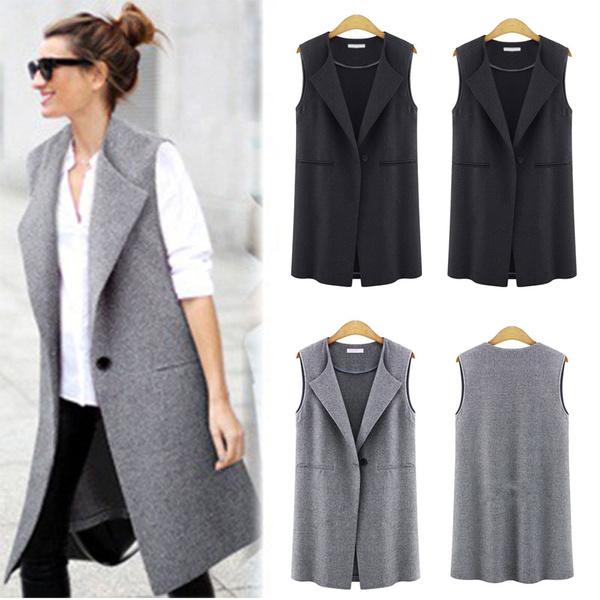 Vest, Plus Size, womens coats, cardigan