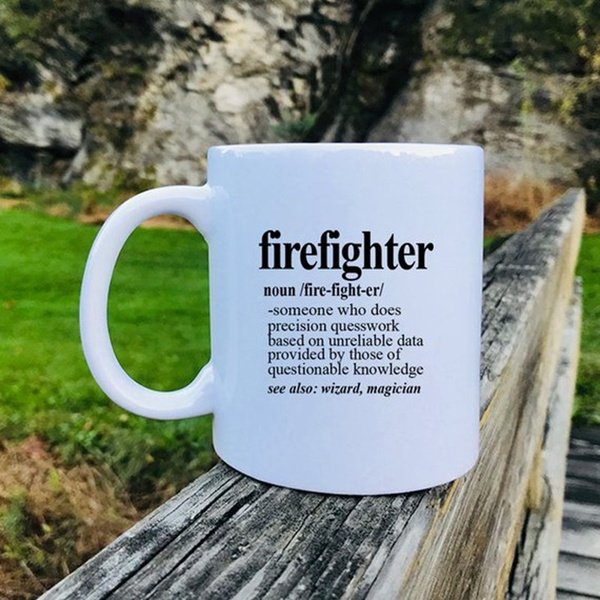 giftforfirefighter, drinkingcup, Gifts, firefightergift