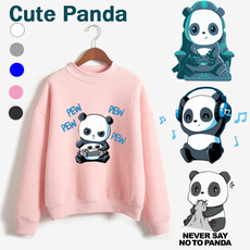 cute, roundneckpullover, cute pullover hoodies, Chinese