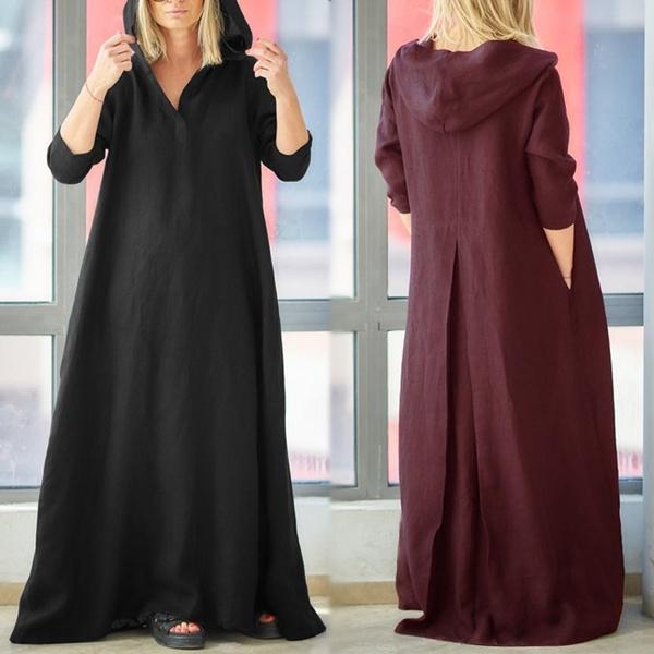Plus Size, Sleeve, Long Sleeve, robefemme
