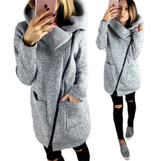 Jacket, fleececoat, womens hoodie, Zip