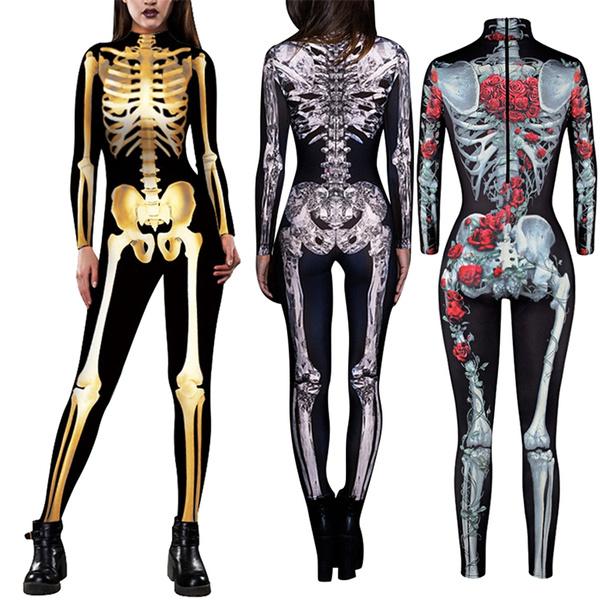 Cosplay, Skeleton, skull, Halloween Costume
