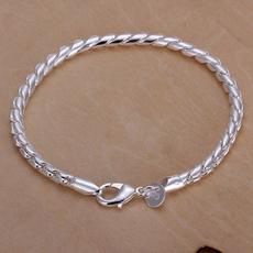 Sterling, Fashion, sterling silver, Chain Link Bracelet