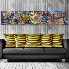 Video Games, art, gaes, decoration oil painting