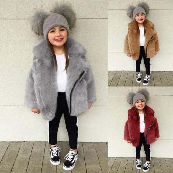 girlswintercoat, cute, Fashion, fur