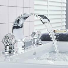 Faucets, Crystal, waterbasin, Bathroom