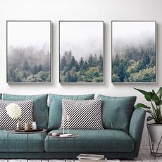 misty, art, Wall Art, Home Decor