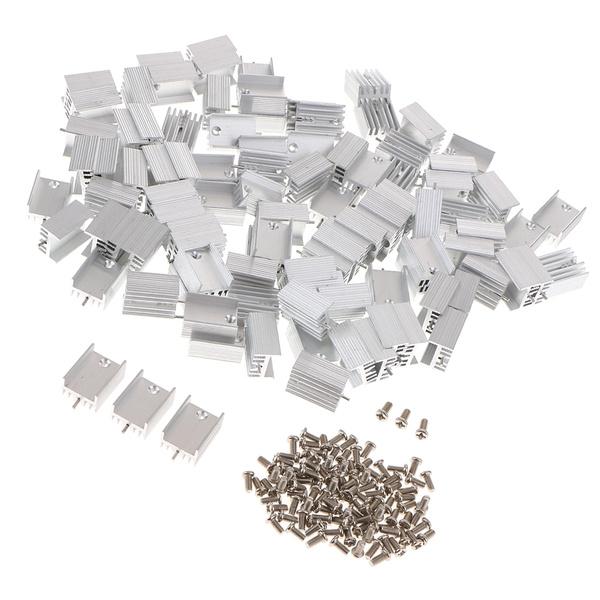 transistorscoolingradiator, heatsink, aluminumheatsink, Aluminum