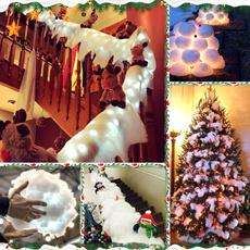 xmasdecor, Decor, Christmas, staircase