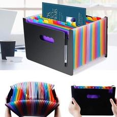 Box, rainbow, documentsorganizer, Wallet