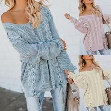 Plus Size, sweaters for women, Sleeve, Long Sleeve