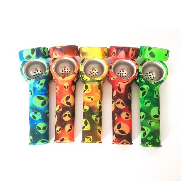 tobacco, Colorful, Silicone, Metal