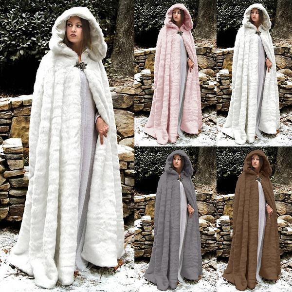fur coat, Fashion, wool coat, Long Sleeve