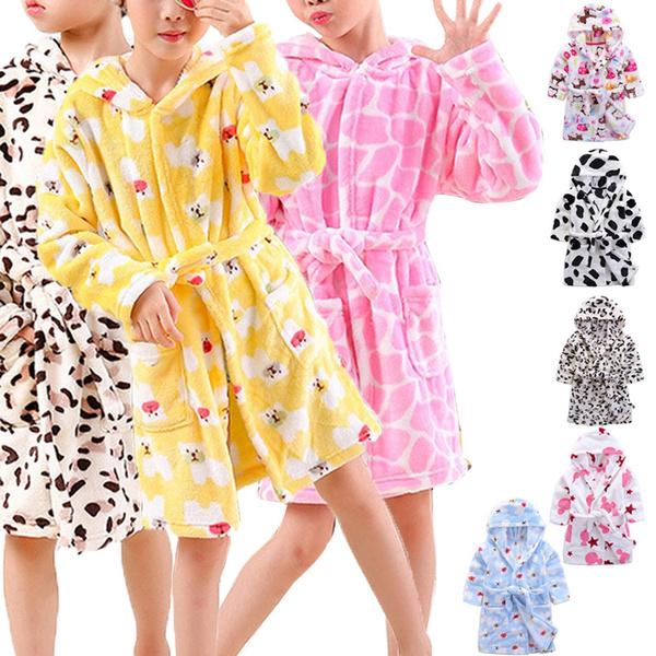 boysgirlssleepwear, hooded, Blanket, Bathrobe