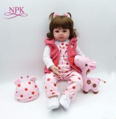 boneca, Toddler, rebornbabiessilicone, doll