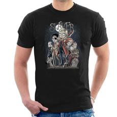 mensummertshirt, Mens T Shirt, mensfashionloosetshirt, menshortsleevetshirt