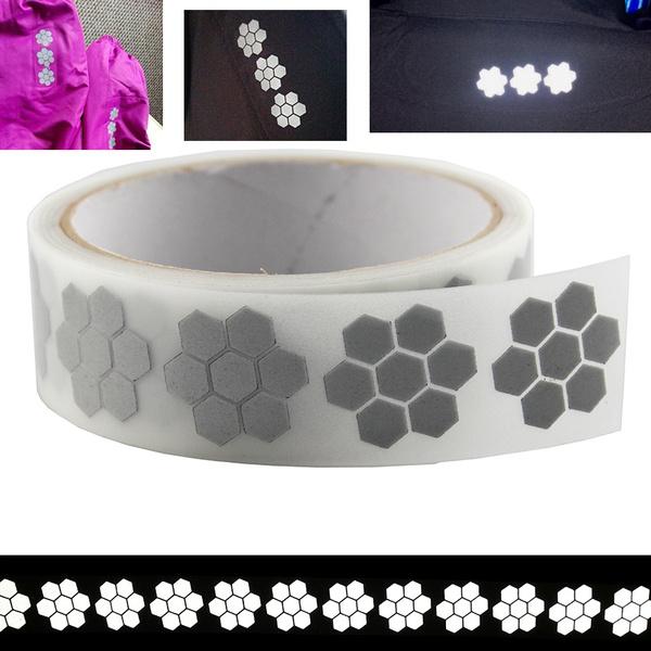 silverwarningtape, reflectiveband, ironon, heattransfervinyl