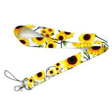 Keys, idlanyard, sunflowerslanyard, Key Chain