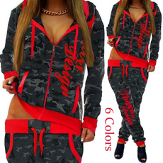 contrastingcolor, women jogging suit, jogging suit, pants