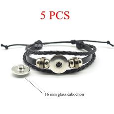 black bracelet, diyjewelry, Braids, glassdome