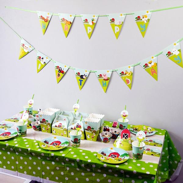 partytheme, babyshowerdecoration, kidspartyfavor, Farm