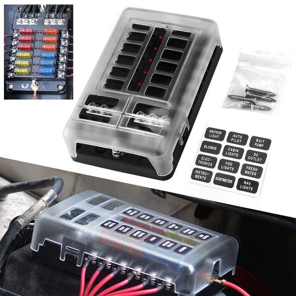 Box, fuseboxblockholder, Marine, Cars