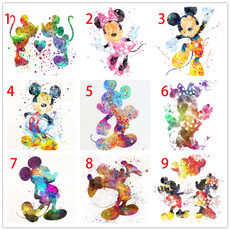 Mickey, Pictures, DIAMOND, Wall Art