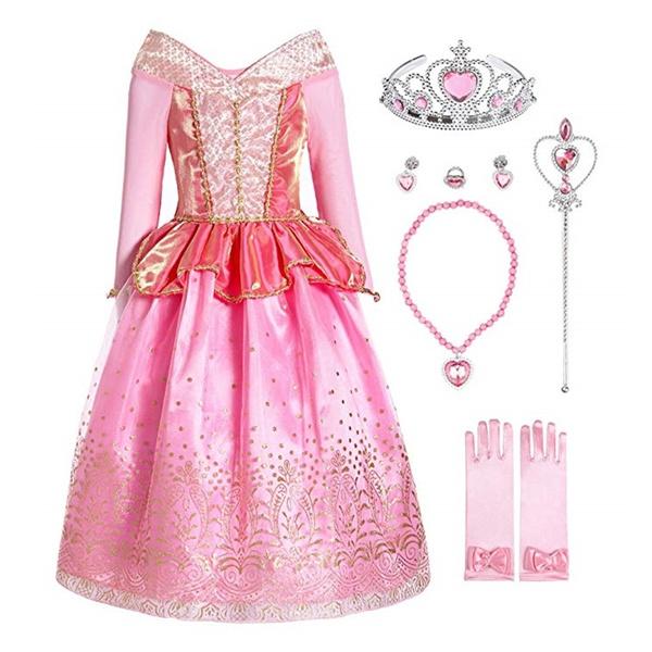 girlscostume, kids clothes, Princess, Cosplay Costume