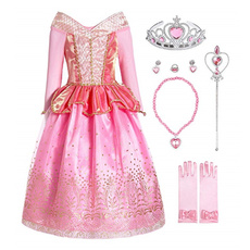 girlscostume, kids clothes, Princess, Cosplay Costume