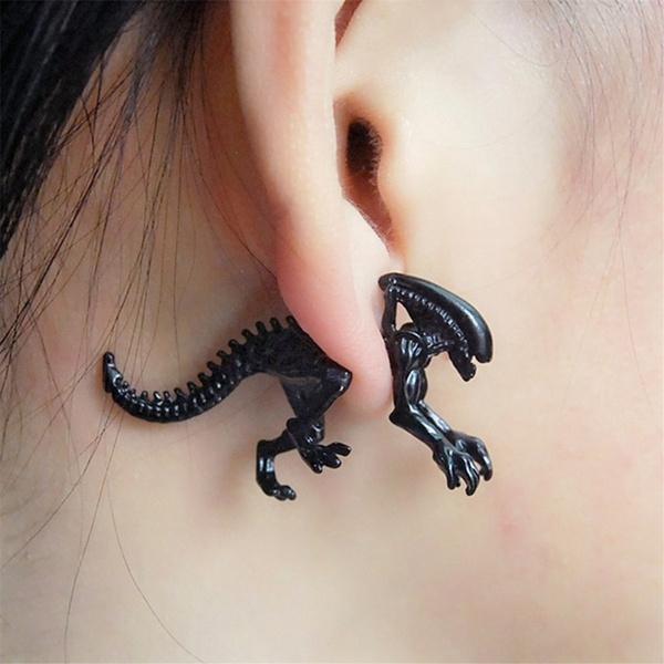 piercedearring, scary, Fashion, Jewelry