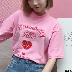 Summer, Funny T Shirt, younggirltshirt, korea