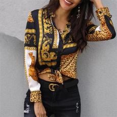 blouse, Deep V-Neck, Fashion, long sleeve blouse