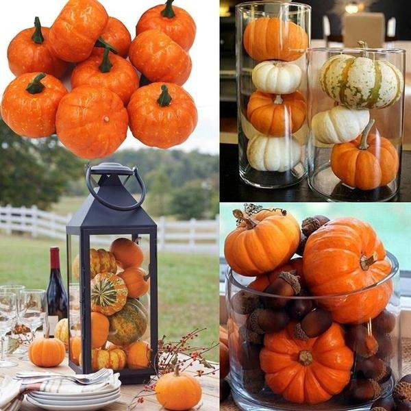 Gifts, foampumpkin, Halloween, artificialpumpkin