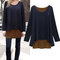 womenplussizeblouse, blouse, highlowshirt, loosefitsweater