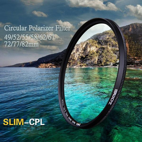 Nikon, Pentax, slim, circularpolarizingfilter