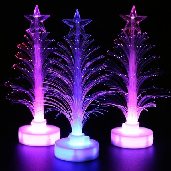 Fiber, led, Christmas, Gifts