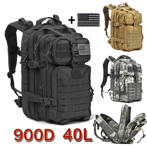 40L Modern Military Tactical Army Rucksack Camping Hiking Trekking Outdoor Bag