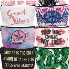 wholesalecosmeticbag, Fashion, Makeup bag, Green